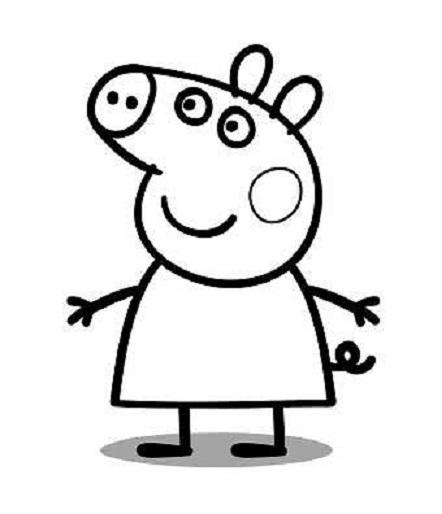 Peppa Pig Disegni Da Colorare 1 Peppa Pig